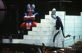 """Pink Floyd """"The Wall"""" Live, Mark Fisher, (1980)"""