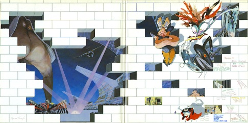 "Gatefold Illustration from ""The Wall"" (1979)"