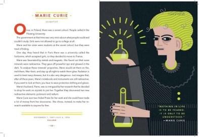 Marie Curie, by Claudia Carieri