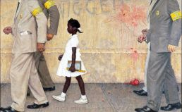 Norman-Rockwell-The-Problem-We-All-Live-With-1964-56a03c313df78cafdaa099ee