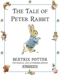 The Penguin 1996 Hardback Cover of The Tale of Peter Rabbit