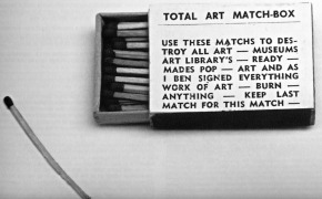 Risultati immagini per Total Art Matchbox (1966)  Artist:Ben Vautier