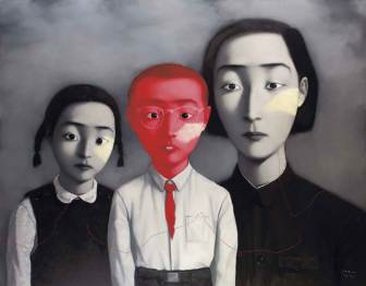 Zhang Xiaogang, Bloodline-big family, 1995