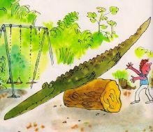 """The Enormous Crocodile"", Roald Dahl & Quentin Blake"