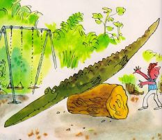 """The Enormous Crocodile"", Roald Dahl & Quentin Blake"
