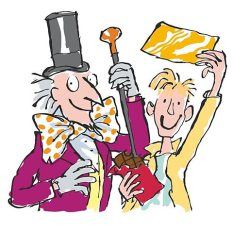 Charlie and the Chocolate Factory, Roald Dahl & Quentin Blake